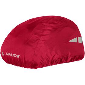 VAUDE Helmet Raincover czerwony